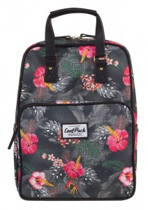 Plecak  Młodzieżowy Coolpack Cubic coral hibiscus