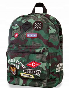 Plecak Coolpack cross moro  camo green