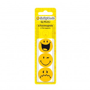 Magnes płaski Smiley World Herlitz