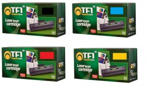 4x toner do HP H-410X (CE410,CE411,CE412,CE413) TFO