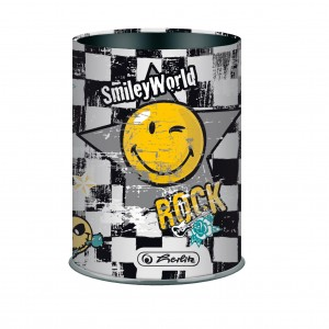 Przybornik metalowy Smiley World rock Herlitz