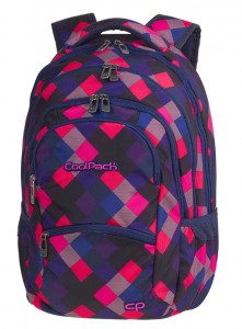 Plecak  Młodzieżowy Coolpack College electric pink